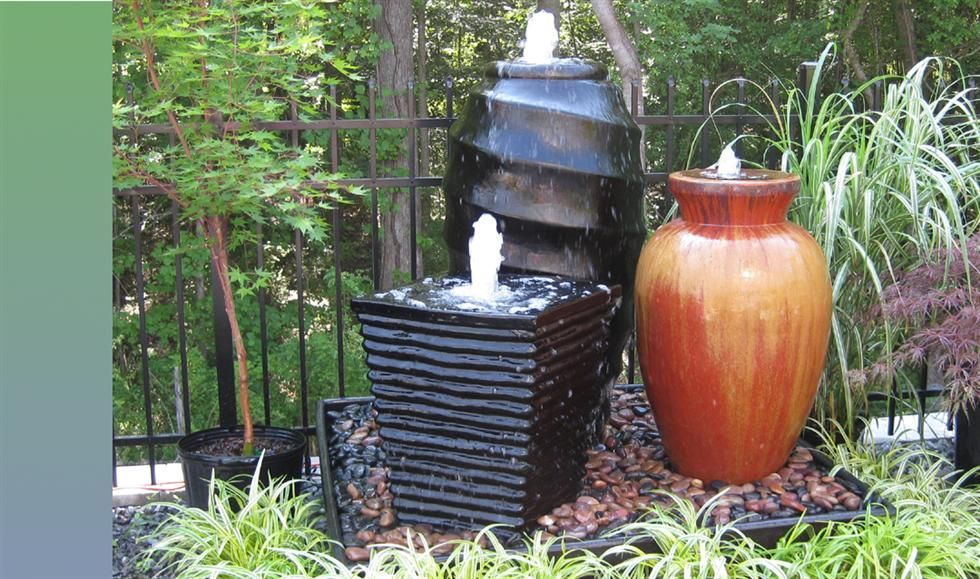 43 best ideas about Fountain on Pinterest Gardens Jars and Pottery