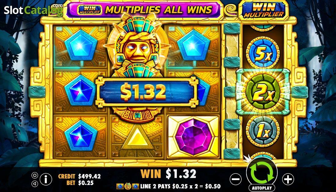 Wild Win Presentation Screen Aztec Gems Video Slot From Pragmatic Play Free Casino Slot Games Casino Slot Games Slot
