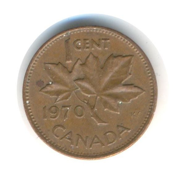 Canada One Cent 1970 Coin (Code:JMC1559) | Coins, Coins for sale, Canadian coins