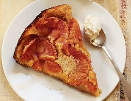 Grapefruit Clafouti...I bet this would be good for breakfast too.
