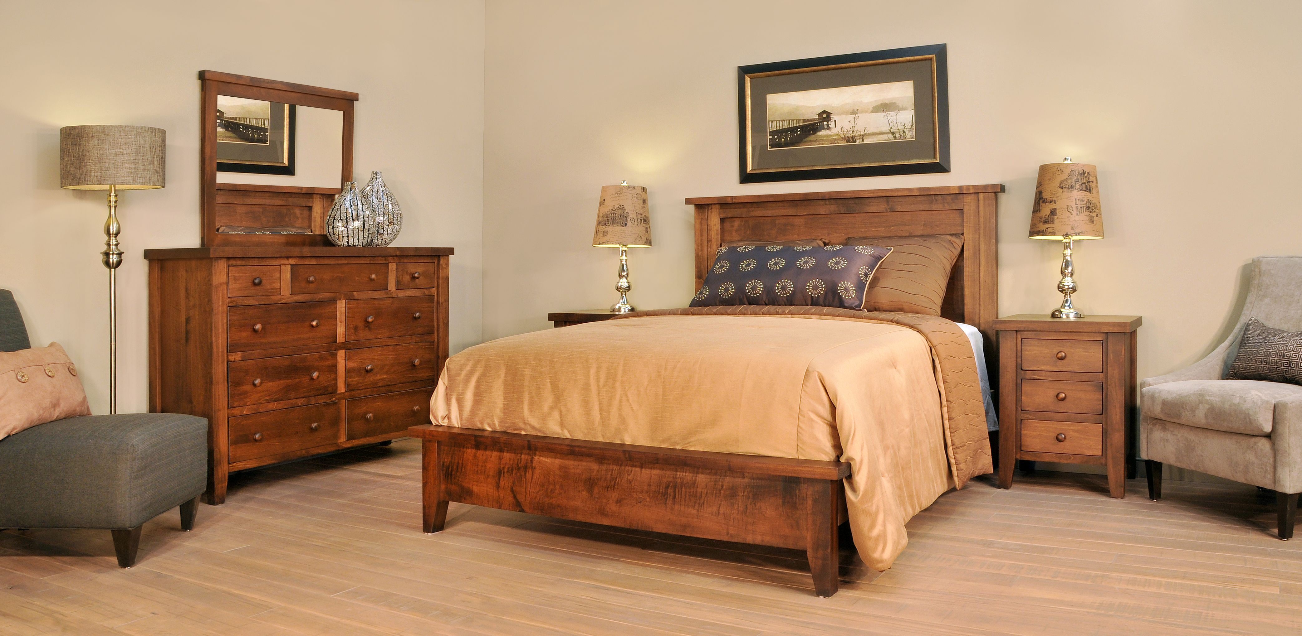Amish Farmhouse Oak Jenison Can They Do It In White