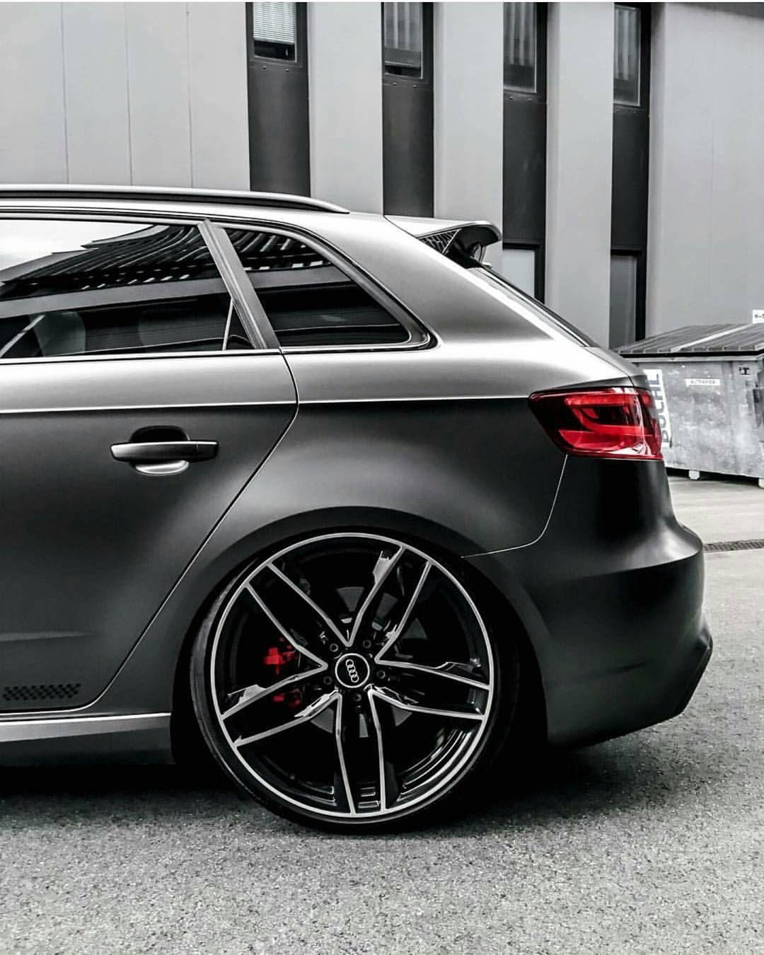 Audi A3 Niche Essen - M147 Wheels Matte Black  |Audi A3 Sedan Black Rims
