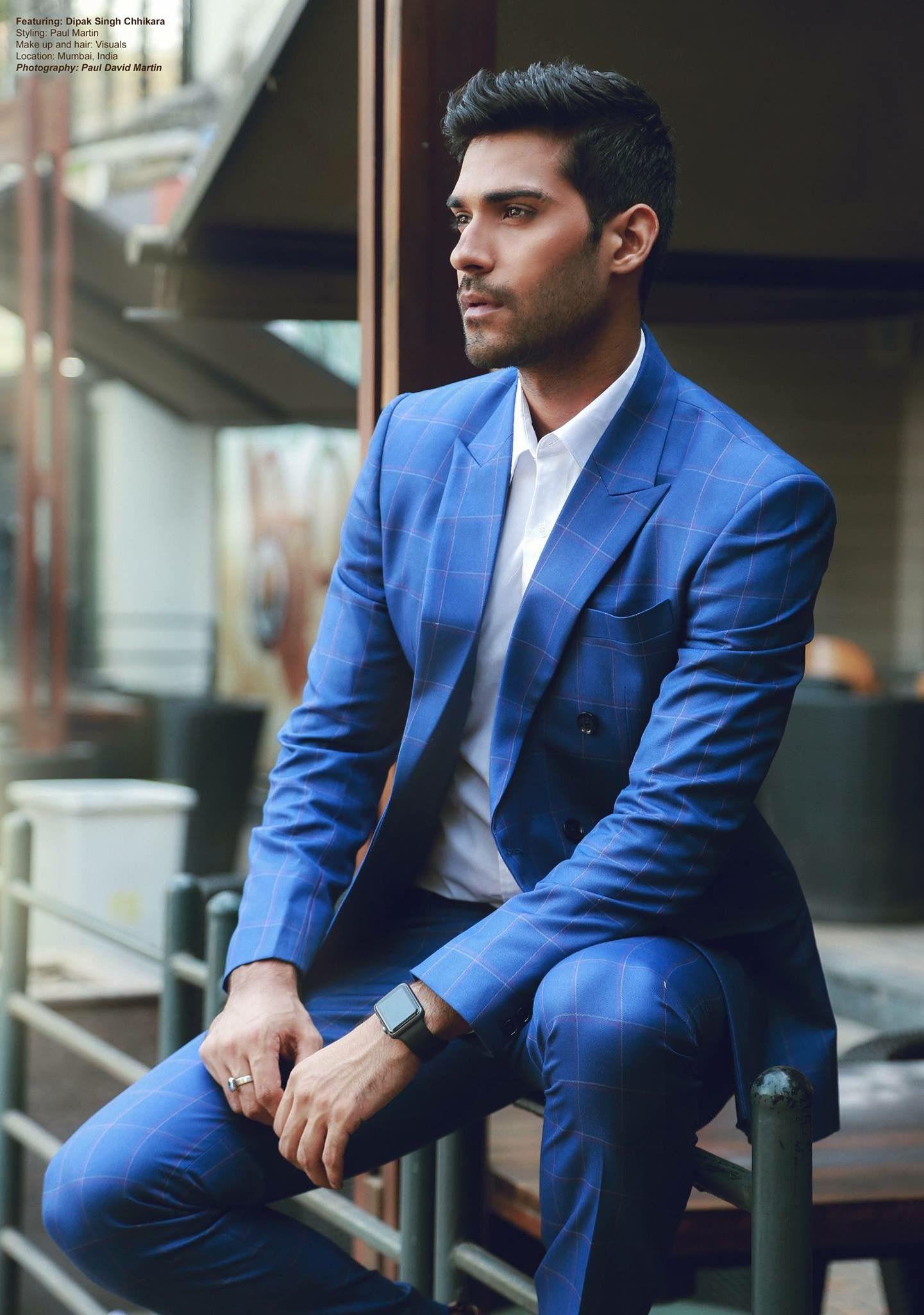 Blue suit Blue suit, Suits, Mens suits