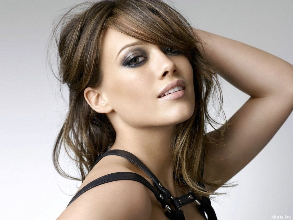 Image Detail For Hair Color Brunette Hair Color Hilary Duff Hair Color 2012 Bunte Haare Haar Styling Hilary Duff