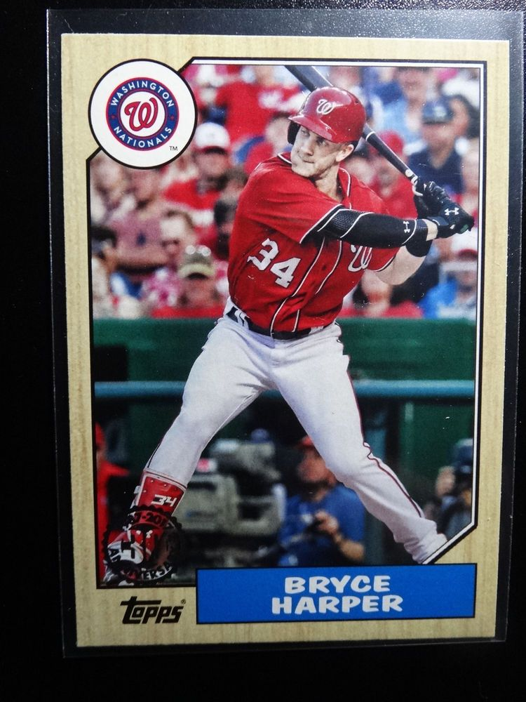 Details About T42 2017 Topps Series 1 Bryce Harper 30th