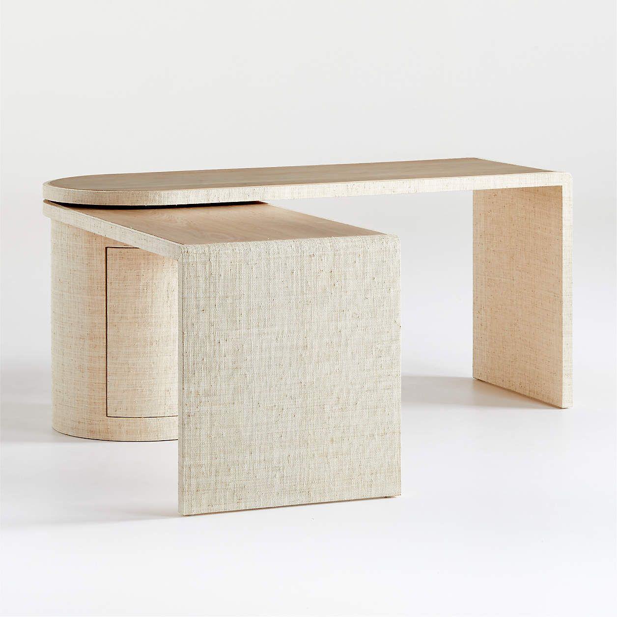 Twist Rotating Desk Reviews Crate And Barrel In 2021 Crate And Barrel Retail Interior Design Interior Inspo