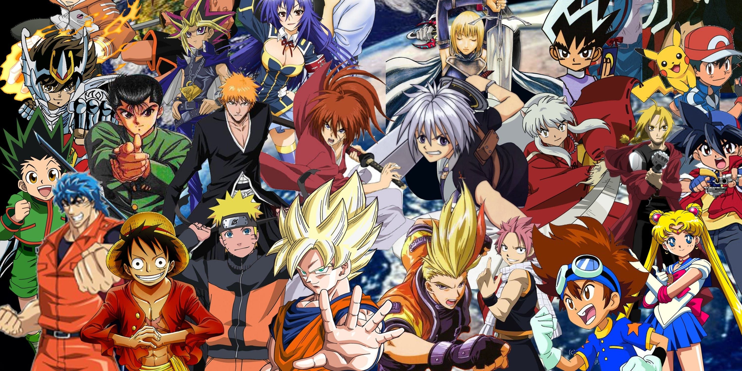 Anime And Manga Universe Mystery Mixed Gift Box Toys Cards Collectibles And More A Mix Of Vintage And New Prod Free Anime Characters Anime Anime Crossover