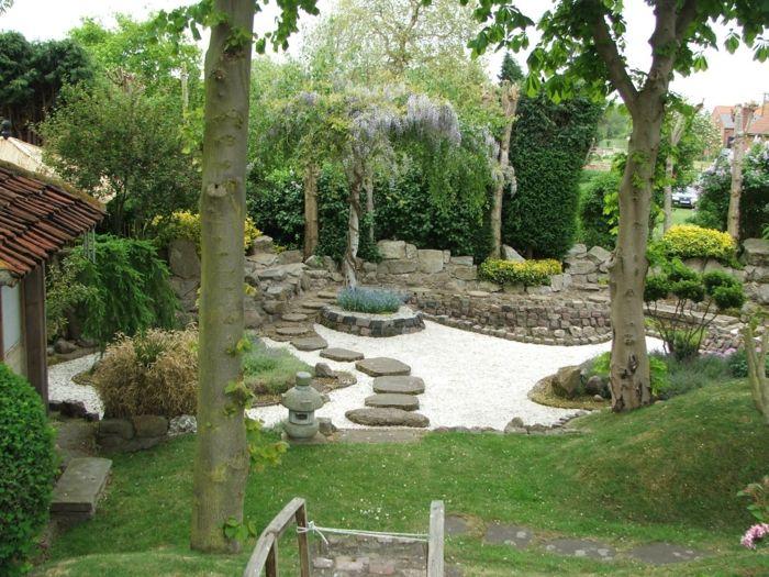 Le jardin zen japonais en 50 images arbre japonais zen for Grand jardin zen