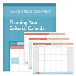 Get Our Free Editorial Calendar Templates  Blogging And Youth