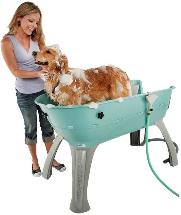 Dog Bath Tub Wash Station Large Pet Cat Washing Shower