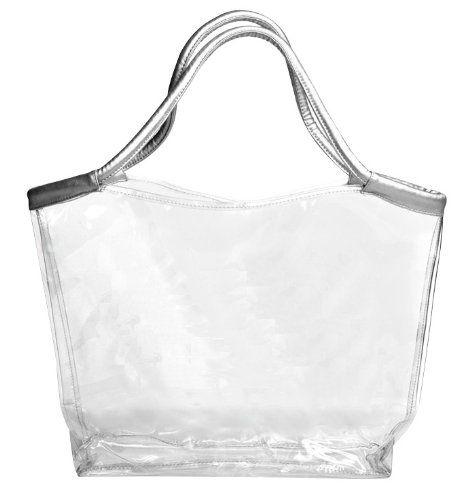 Travel Cosmetic Bags Tote Clear Beach Bag Stadium