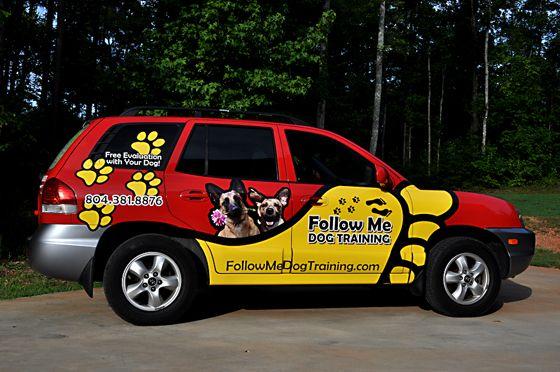 Follow Me Dog Training Pet Businesses Dog Shop Service Animal