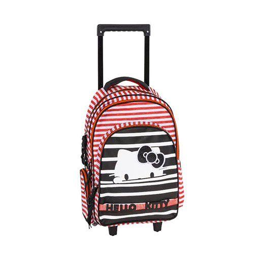 38c5746f1c6 Hello Kitty Stripes Σχολική τσάντα τρόλεϊ Graffiti 188252 #Hello_Kitty  #Hello_Kitty_2018 #sxolika #sxolika_eidh