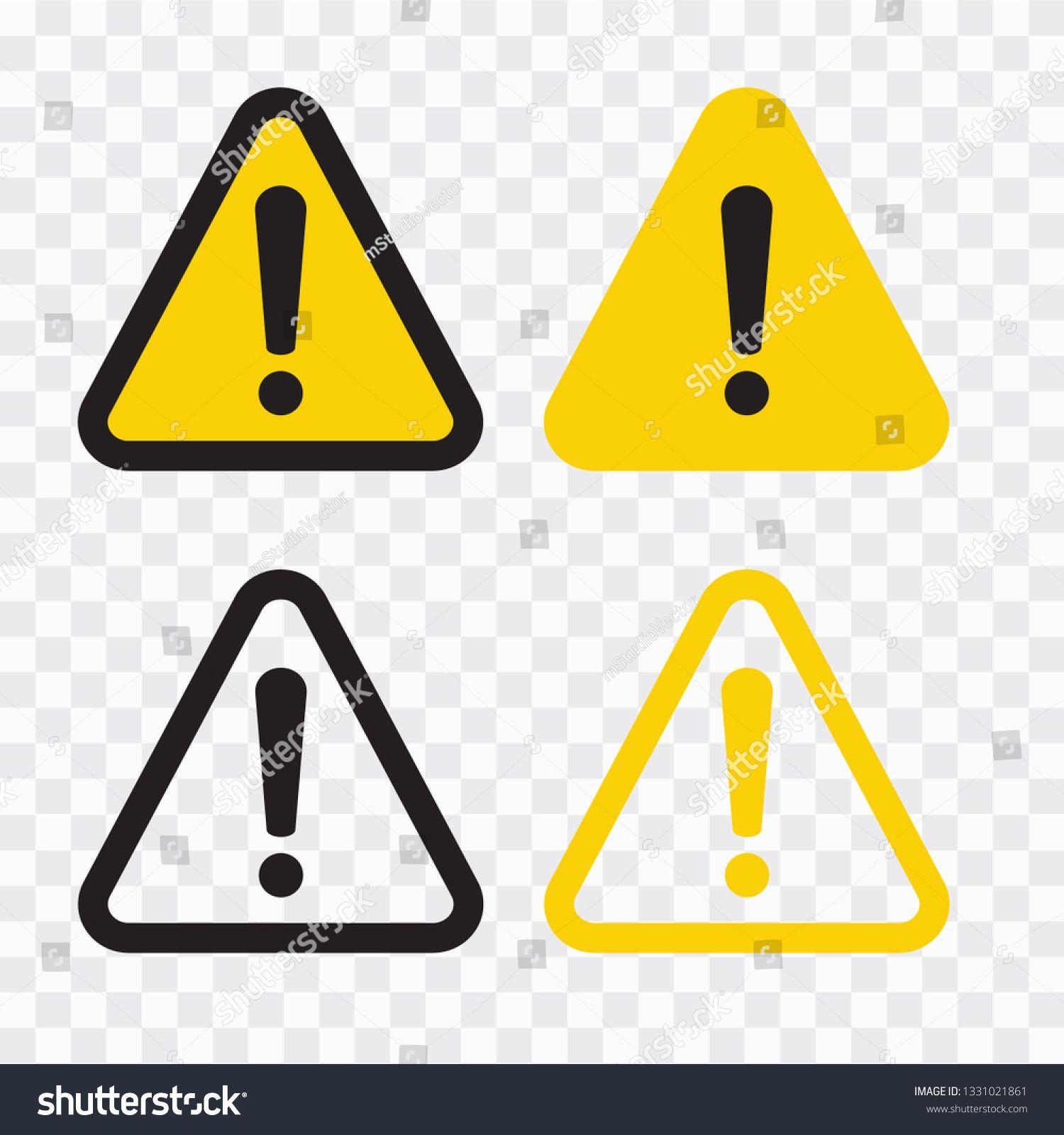 Warning attention sign. Danger sign design. Caution error