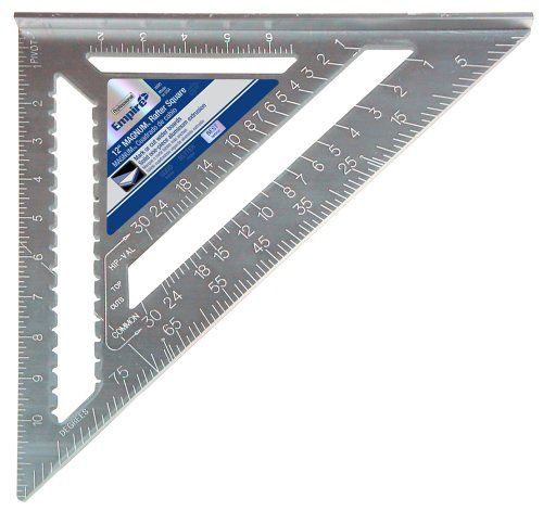 Empire 3990 12 Inch Heavy Duty Magnum Rafter Square Empire Level Http Www Amazon Com Dp B0007a29uc Ref Cm Sw R Pi Dp Rafter Square Woodworking Jigsaw Rafter