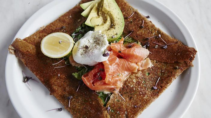 Ocean trout galette | Crepe recipe | French food | SBS Food