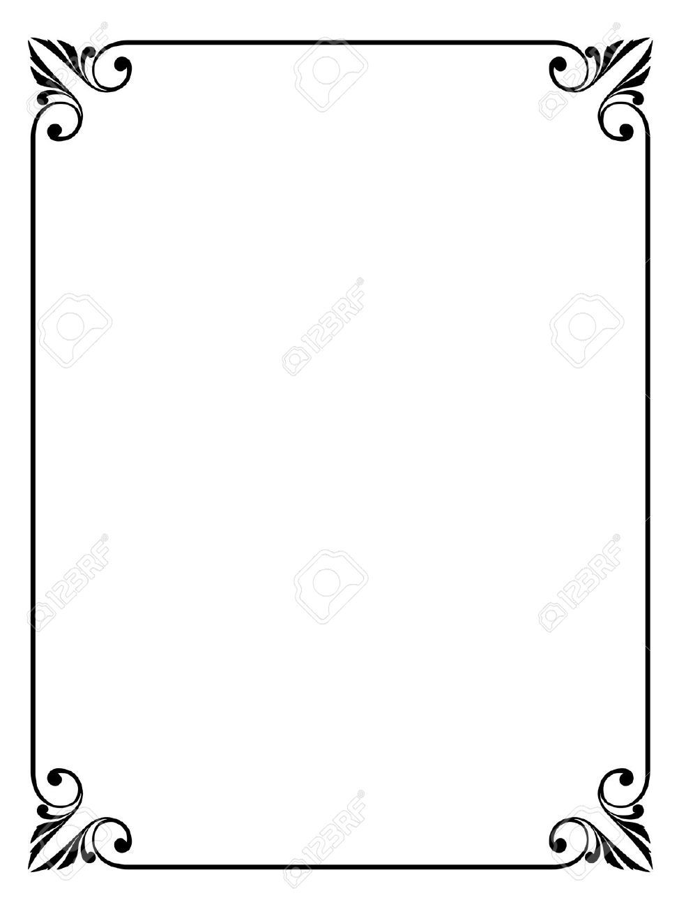 simple victorian border google search bath pinterest rh pinterest com Policeman Clip Art Drawing Rosa Parks Black and White Drawings