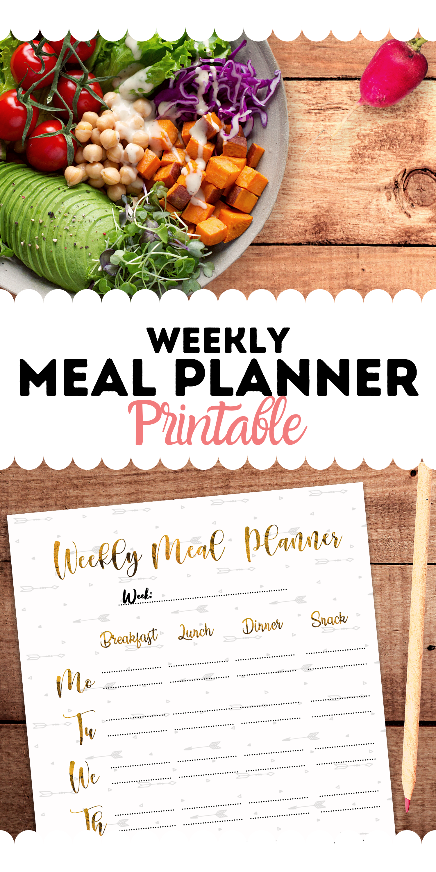 Pin On Meal Planning Printable