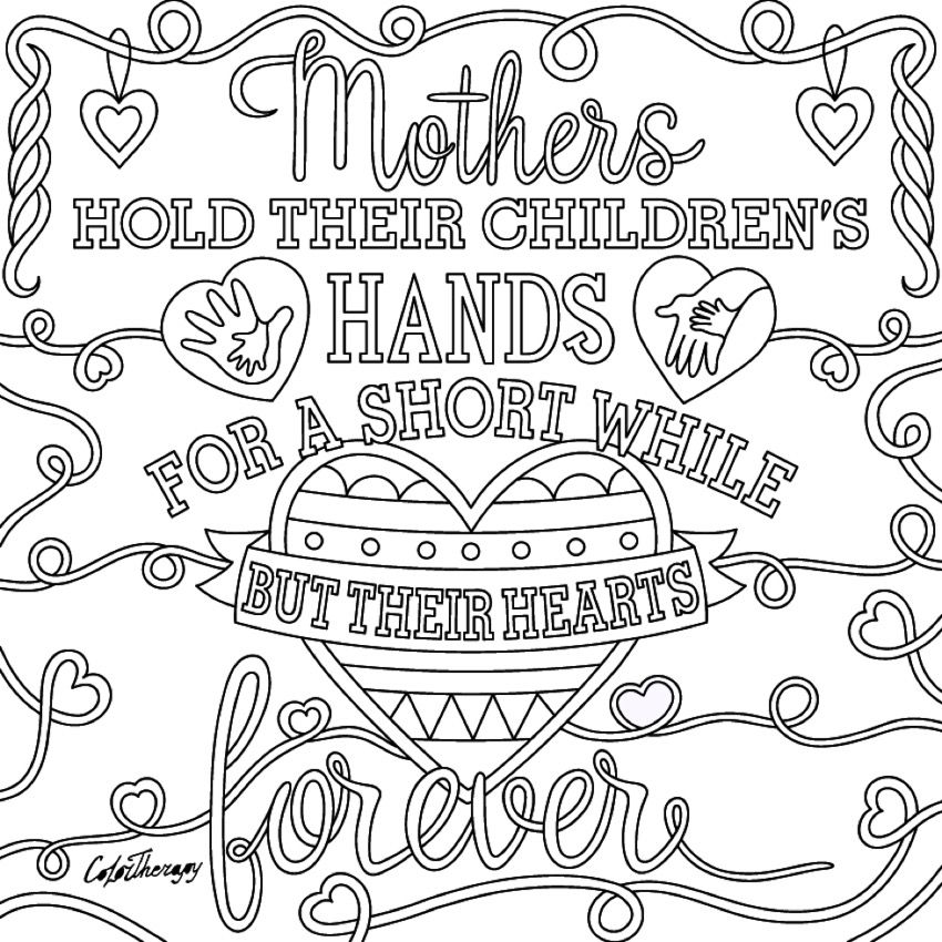 mandala coloring pages meaningful quotes - photo#6