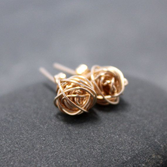 Knot Earrings I Have Cherished For Many Christmas S Growing Up The Meaning Of Copper