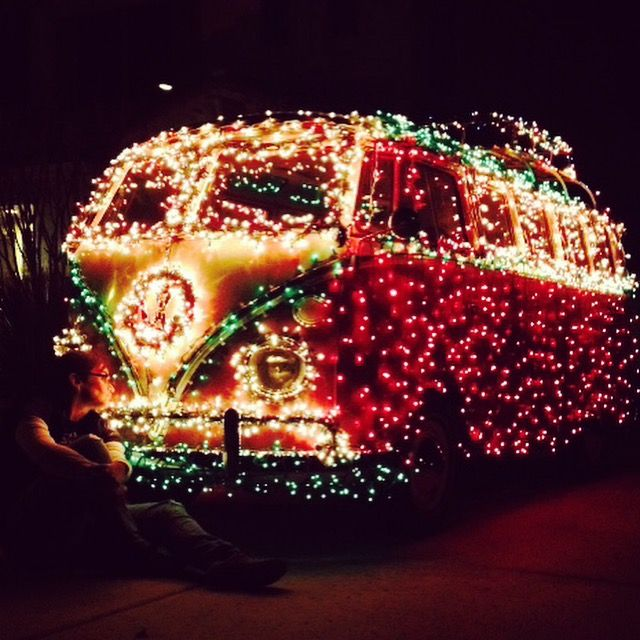 The BUSTEDVW at Christmas! A 66 21-window bus.
