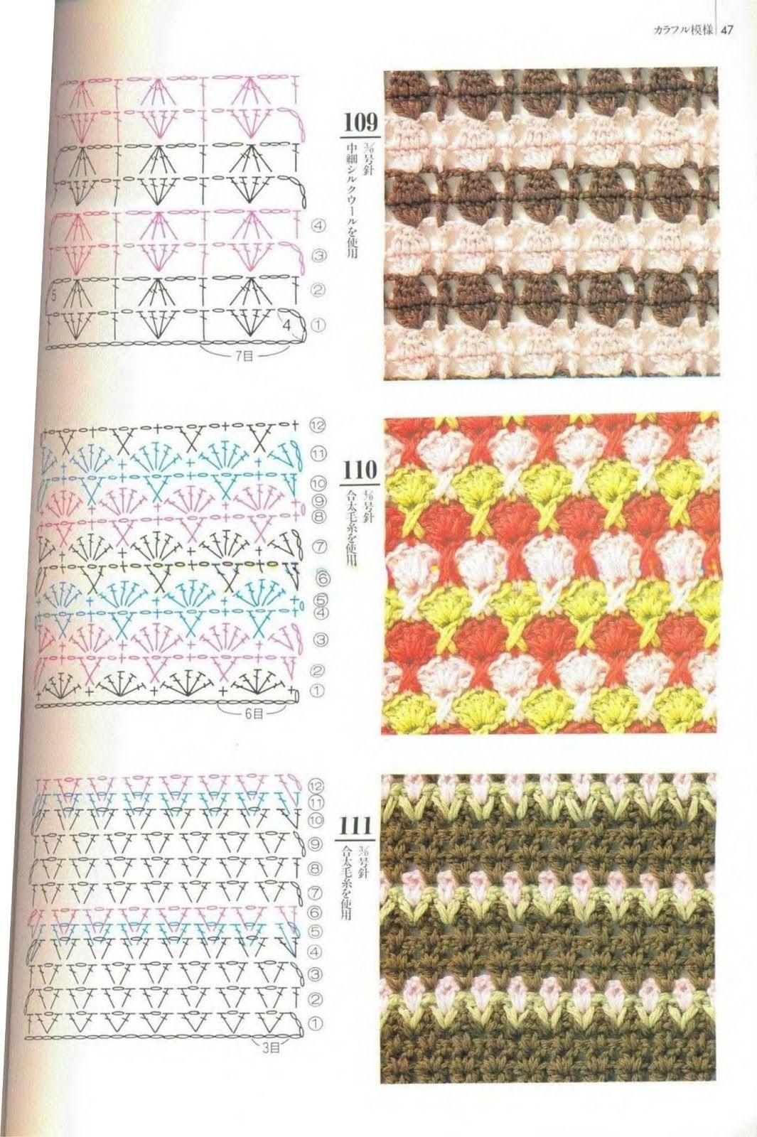 SOLO PUNTOS: Crochet Dos colores | Crochet patterns | Pinterest ...