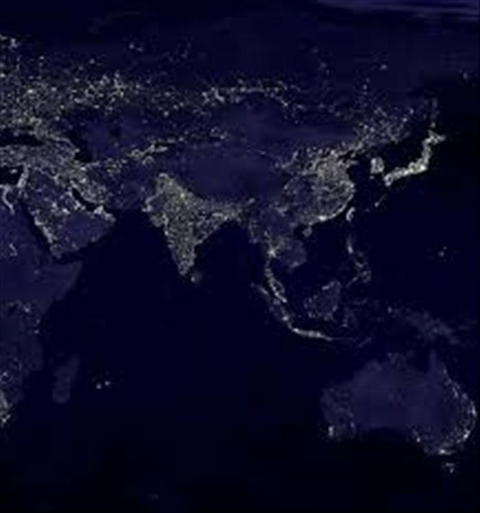 Población Y Luces La Nasa Revela Fotografías De Nuestro Planeta Durante La Noche Tierra Desde El Espacio Fotografia Espacio Y Astronomía