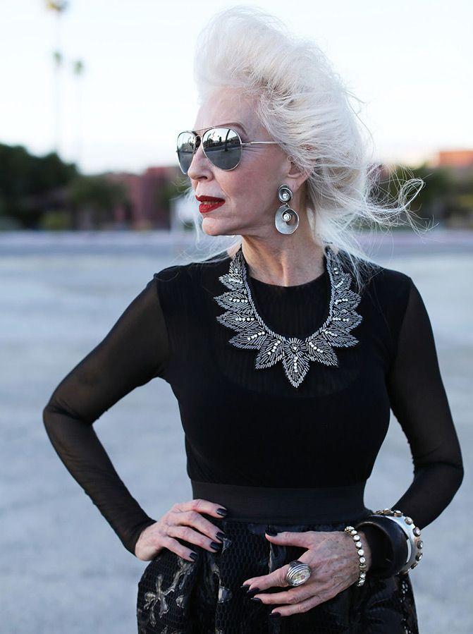 Pin von Клара Коралли auf Бижу   Mode für ältere frauen