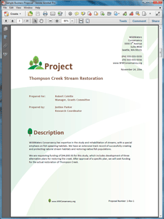 Research Sample Proposal  Create Your Own Custom Proposal Using