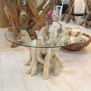 Glass Coffee Table Driftwood Base httproyalparkschoolorg