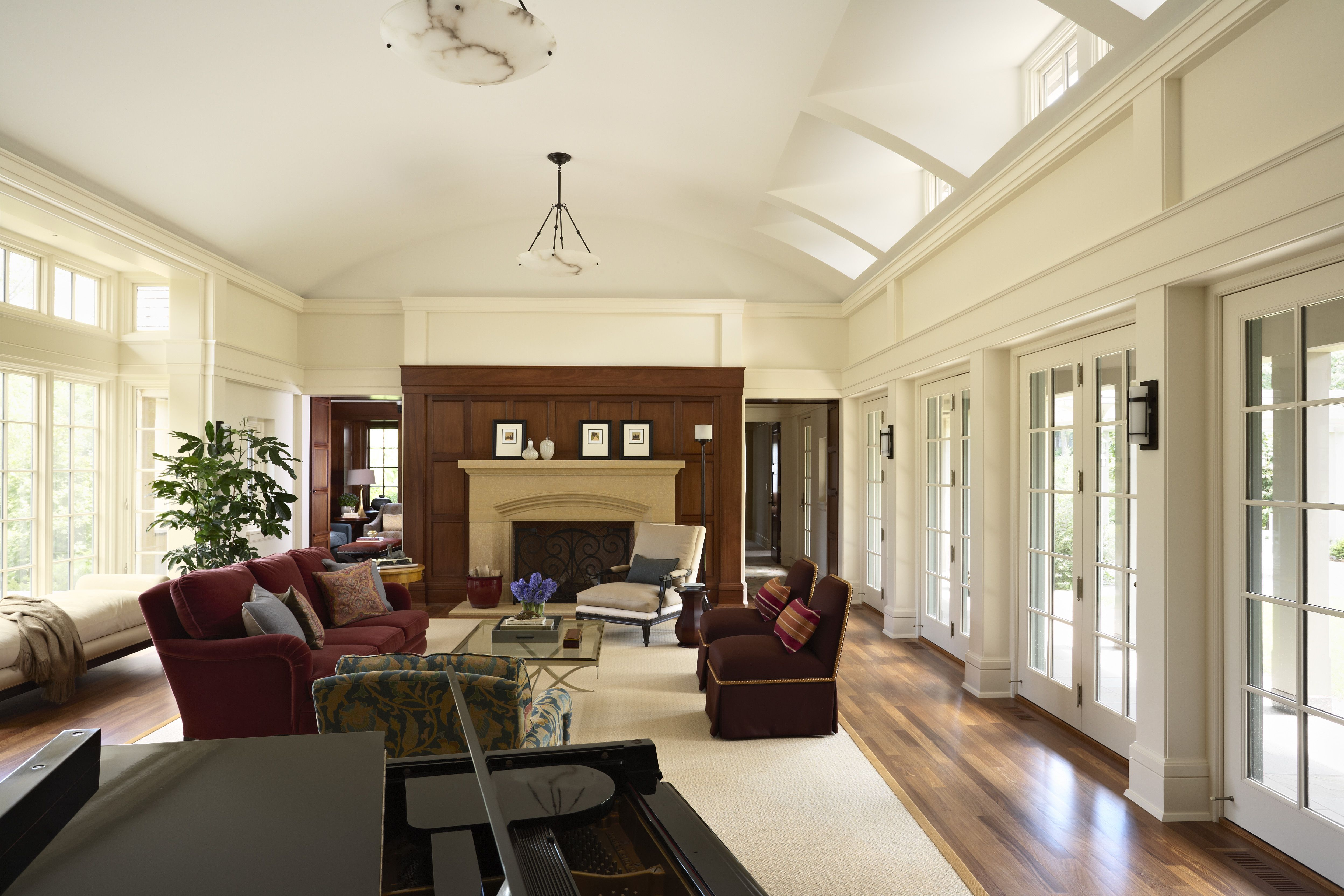 Modern english country house country interior modern english living room furniture living room