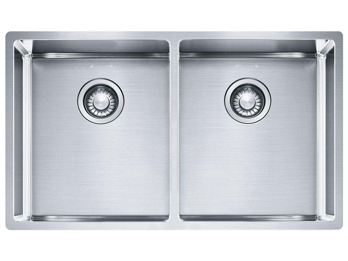 franke bow double insetundermountflushmount sink  kitchens  - franke bow double insetundermountflushmount sink