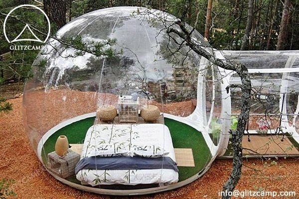 Bubble Lodge Provides Uncomparable Gl&ing Space - Glitzc& Gl&ing Tent Hotel -Luxury Lodge Tent- Safari Tents-Eco Dome House For Tent Resort & Transparent Bubble Tent for Backyard http://www.glamping-tent.com ...