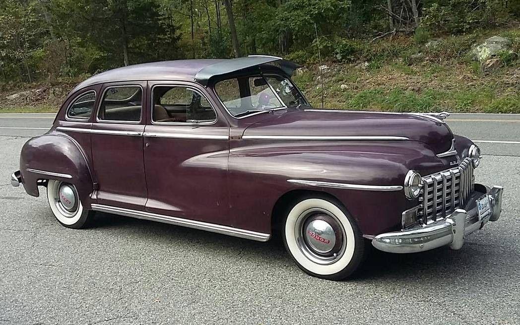Fluid Driving 1947 Dodge Deluxe Sedan Classic Cars Sedan Dodge