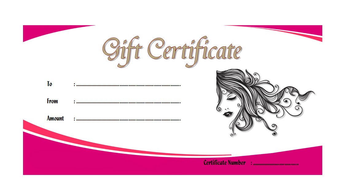 Pin On Free Spa Gift Certificate Templates For Word
