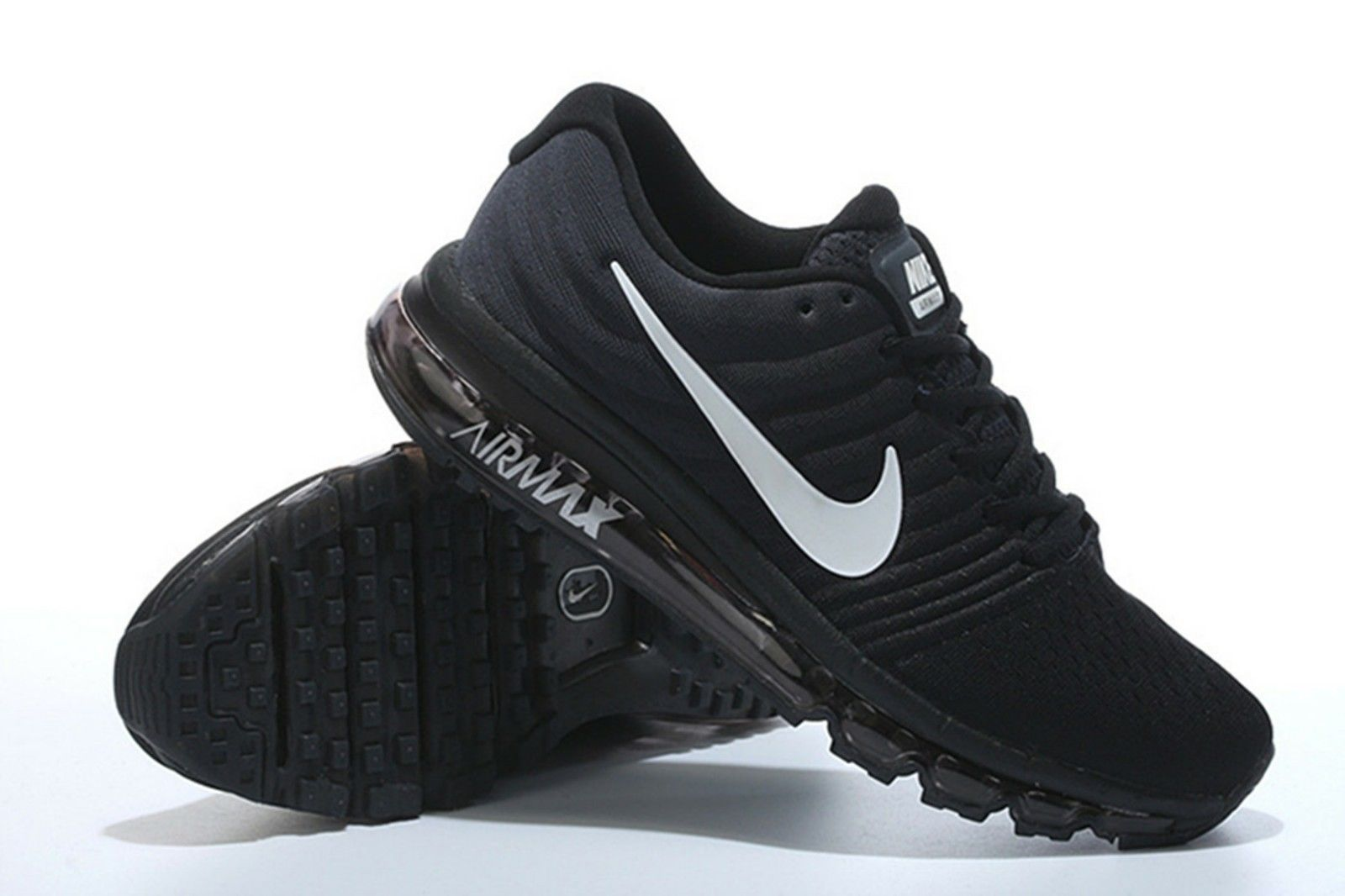 newest 83cca a6bf3 NIKE AIR MAX 2017 MENS RUNNING SHOES SIZE 10 Black | Common ...