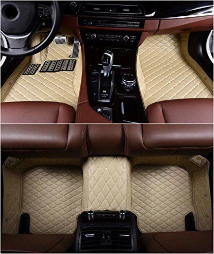 Okutech Custom Fit Allweather 3d Covered Xpe Leather Car Carpet Floorliner Floor Mats 3 Rows For Infiniti Qx80 With 2 Waterproof Car Car Floor Mats Floor Mats