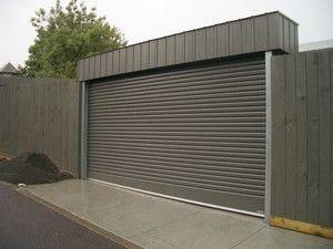 Free Standing Garage Door Fenceline Roller Doors Rj