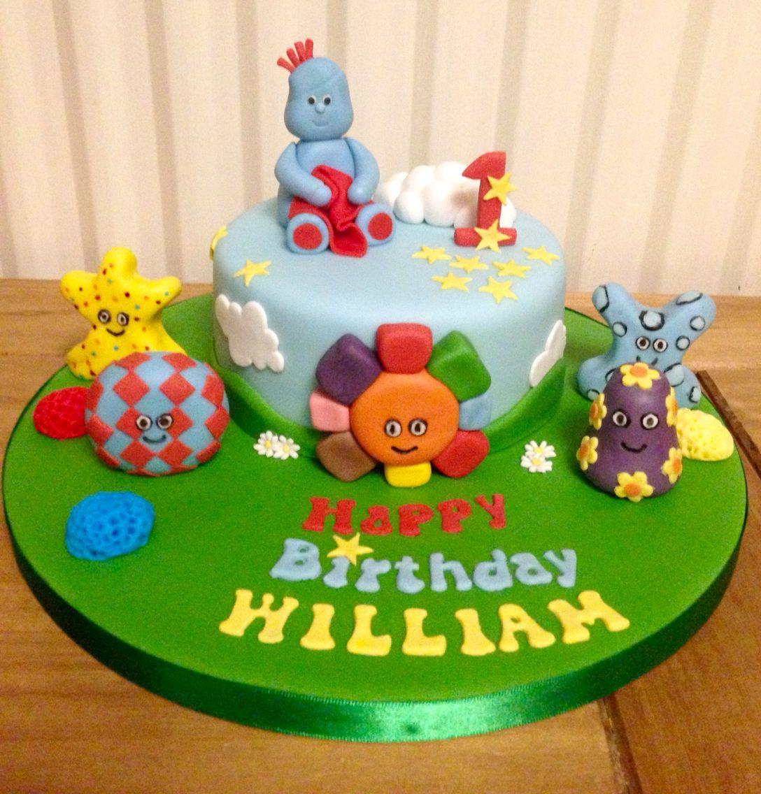 Iggle Piggle Cake | 1st birthday cakes, Garden cakes, Baby ...