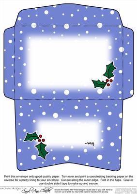 c6 christmas envelope weihnachten christmas winter. Black Bedroom Furniture Sets. Home Design Ideas