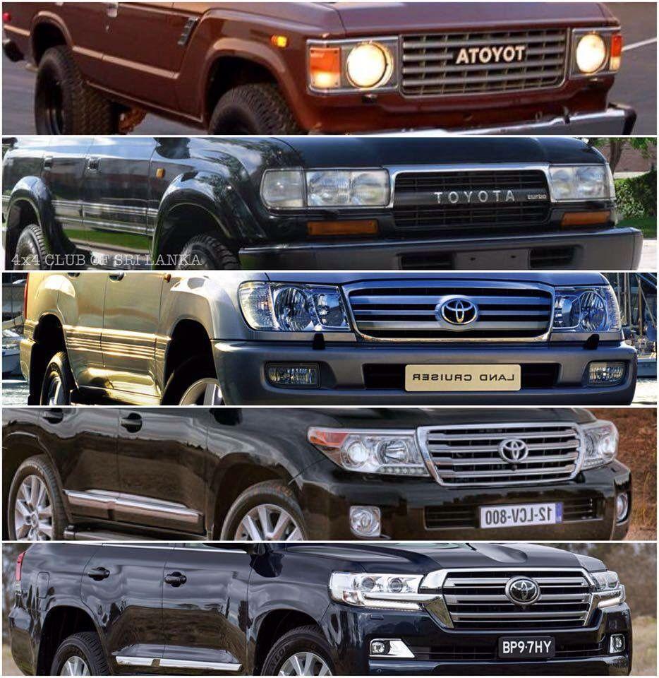 Evolution Station Wagon Toyota Land Cruiser Land Cruiser