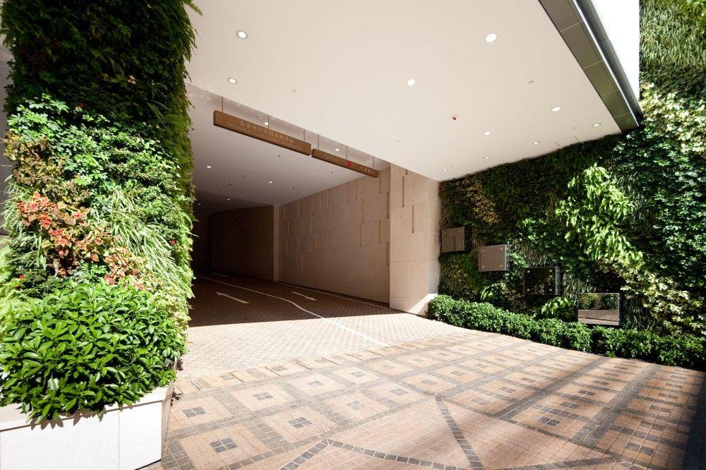 Comerciais Building Exterior Green Construction Architecture