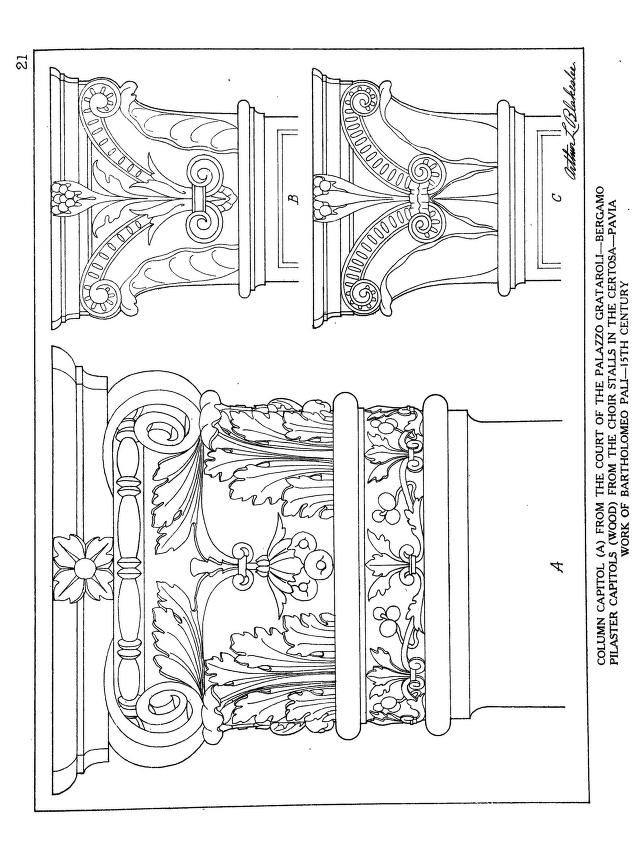 Ornamental details of the Italian Renaissance 1920 - Arthur ...