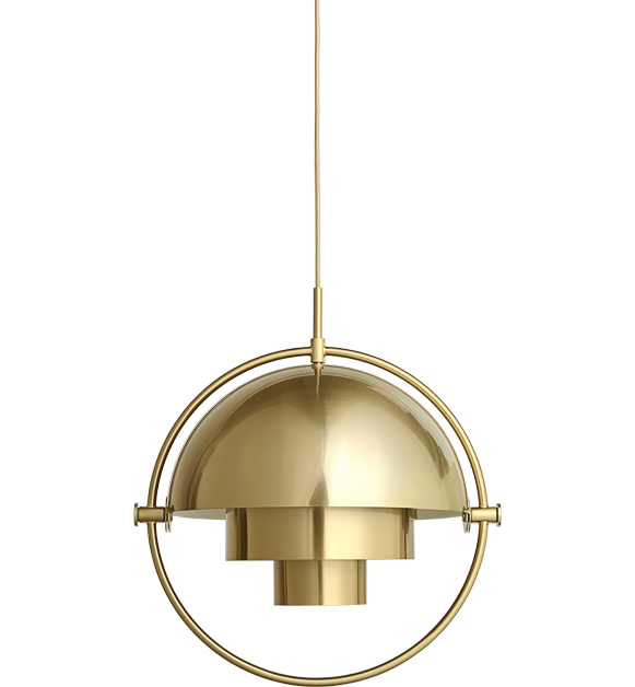Multi lite pendant all brass 4m brass c from gubi lighting multi lite pendant all brass 4m brass c from gubi art deco aloadofball Gallery