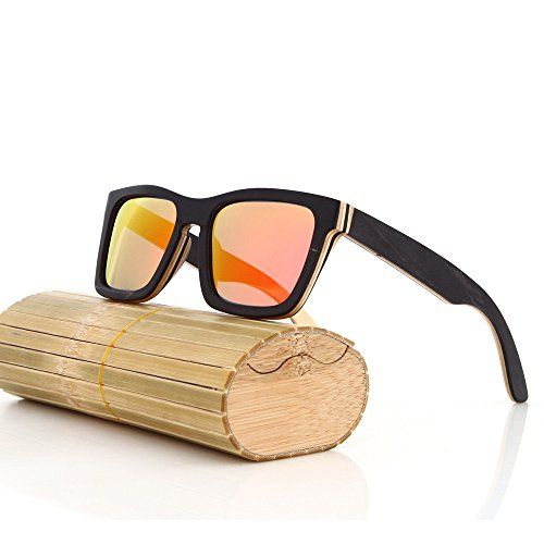 36453d18ef Riglook Classic Wood Sunglasses Women With Wooden Frame Bamboo sunglasses  in Wood Box Protect Polarized Lenses