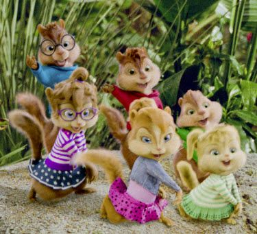 Alvin The Chipmunks Chipwrecked Bad Romance Scene With