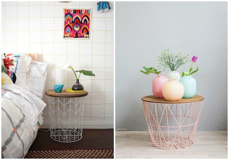 Sorprendentes Mesas Auxiliares Diy Ideas Muebles Home Pinterest - muebles diy