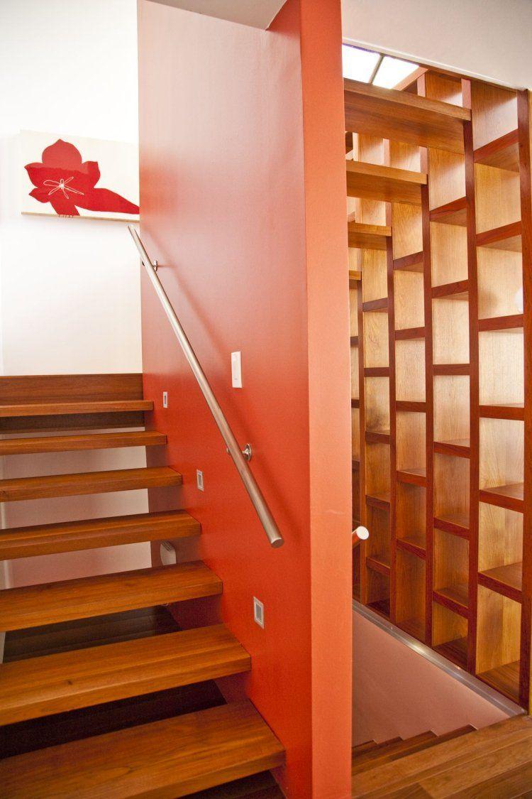 Renovation Escalier Idees Escalier Peint Et Deco Montee D Escalier Idee De Decoration Idees Escalier Deco Escalier