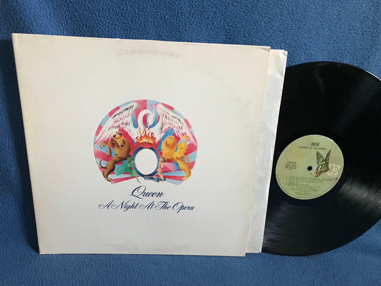 Rare Vintage Queen A Night At The Opera Vinyl Etsy Queen Albums Vinyl Sales Record Album