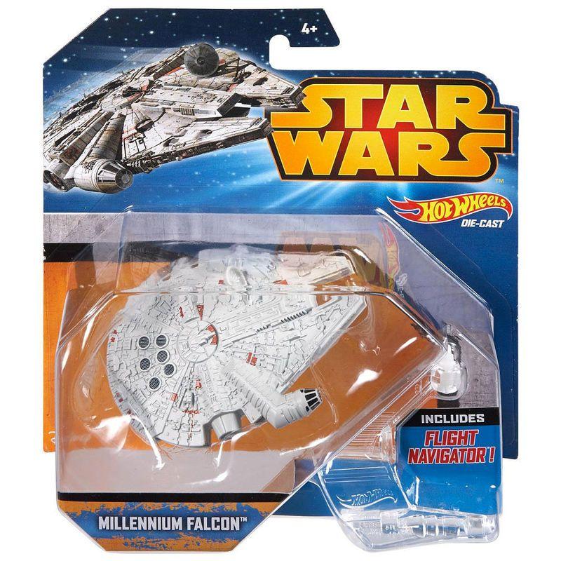 Millennium Falcon Star Wars Hot Wheels (11,95€) Figuras
